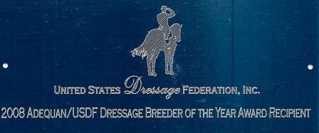 USDF Sporthorse Breeding Awards